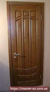 Входная деревянная дверь от производителя