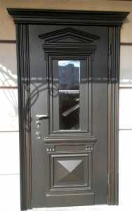 Дверь входная деревянная с коробкой, купить в Одессе