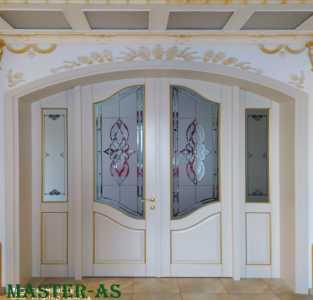 МД-134 Двустворчатая арочная дверь