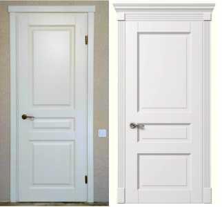 МД-137 купить белые двери в Одессе