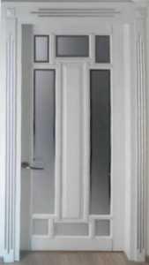 Белая межкомнатная дверь в Одессе ДМ-121