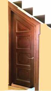 МД-136 Нестандартная межкомнатная деревянная дверь