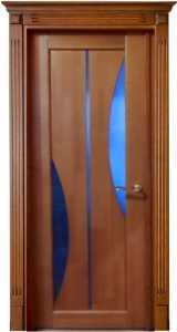 MD-3 Межкомнатная дверь из массива натурального дерева