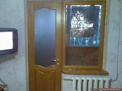 Межкомнатные деревянные двери балконные
