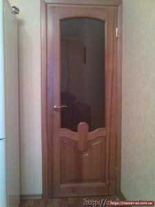 MD-44  Дверь межкомнатная со стеклом