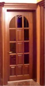 Дверь деревянная межкомнатная из первоклассной древесины МД-129