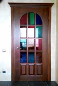 MD-119 Классическая деревянная межкомнатная дверь