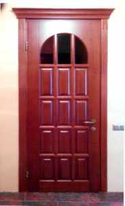 Двери межкомнатные из массива дерева МД-131