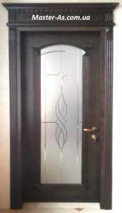 МД-133 Межкомнатные двери с витражным стеклом