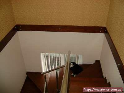 Изготовление столярных изделий в Одессе: лестницы Лб-01.
