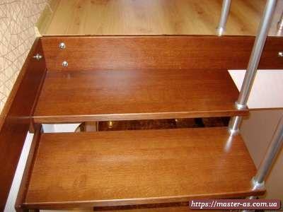 Производство столярных изделий в Одессе: лестницы из дерева