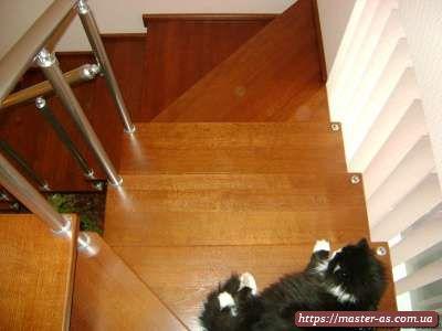 Столярные изделия: фото деревянных ступеней