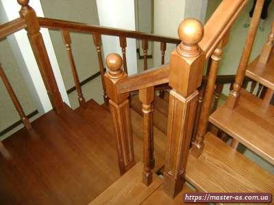 Деревянные лестницы под заказ в Одессе