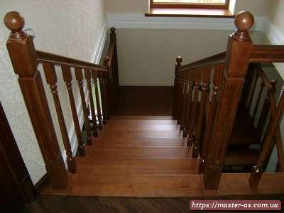 Лестницы из дерева от производителя в Одессе