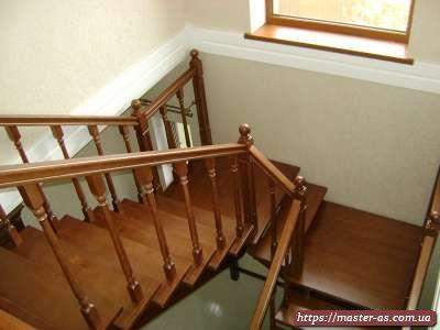 Деревянная лестница: фото лестничного марша