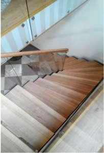 Лестницы из натурального дерева МЛ-4