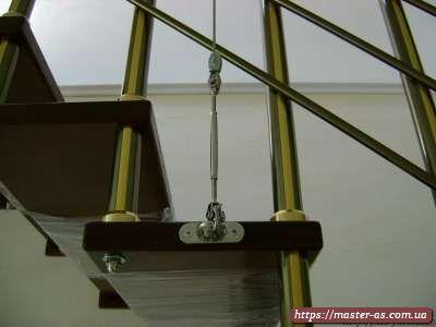 Производство деревянных лестниц в Одессе