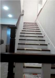 Обшивка металлических лестниц деревом Ол-2