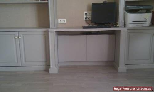 Деревянная мебель для спальни с местом для компьютера