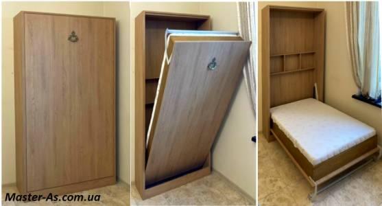 Шкаф-кровать трансформер с подъемным механизмом КД-05