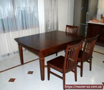 Мебель для кухни: стол деревянный кухонный