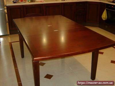 Стол для кухни раскладной деревянный