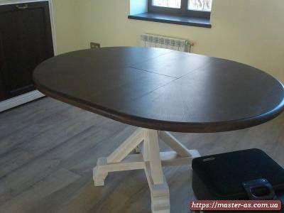 Столовый стол из дерева для кухни