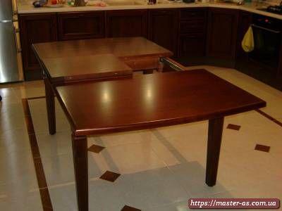 Деревянный стол трансформер для кухни СС-01