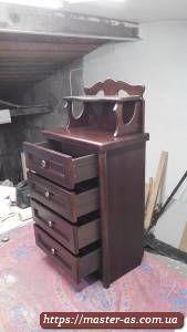 Комод деревянный для спальной комнаты