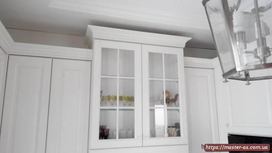 Навесные шкафы мебельного гарнитура