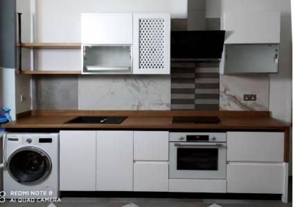Деревянная кухня в Одессе: долговечность и натуральность МП-13
