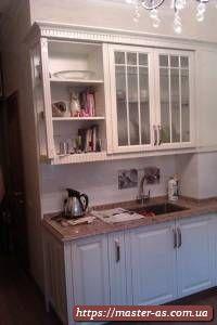 Деревянная мебель: кухня Виктория
