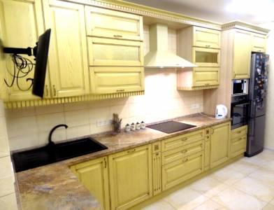 Комплект деревянной мебели для кухни Престиж