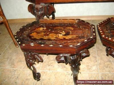 Реставрация стульев стола кухонной мебели